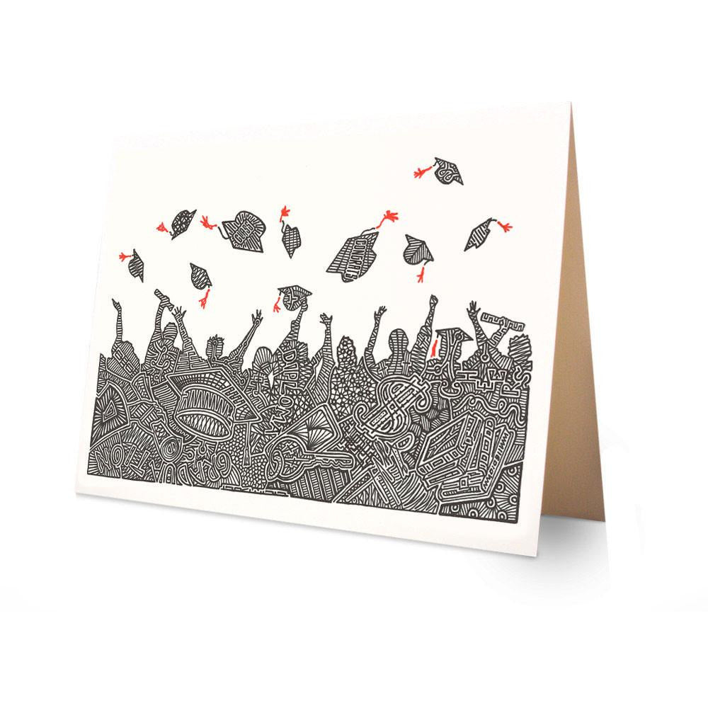 Greeting Card - Graduation-Greeting Cards-Viz Art Ink