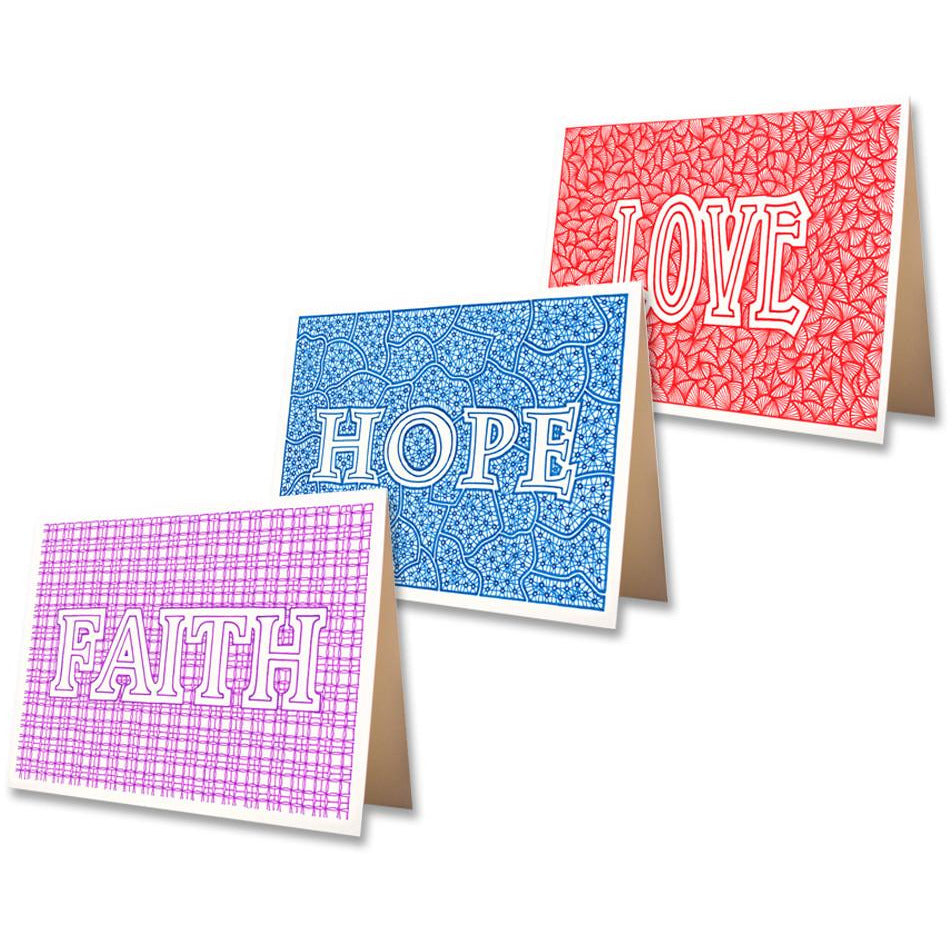 Greeting Cards - FAITH, HOPE & LOVE