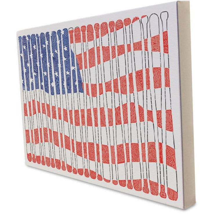 Canvas - American's Pastime-Canvas-Viz Art Ink