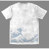 T-Shirt - Off California (White & Blue)-Clothing-Viz Art Ink