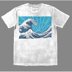 T-Shirt - Off California (White & Navy)