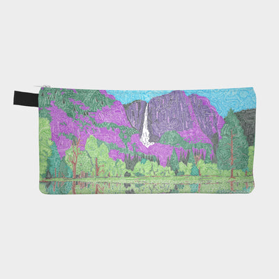 Small Zipper Bag - Yosemite Falls