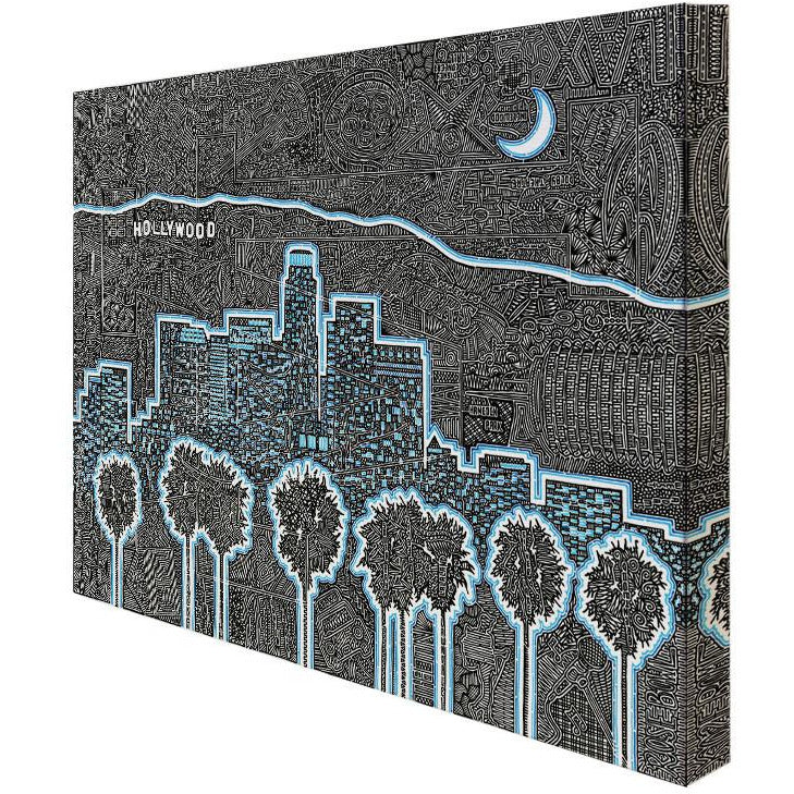 Canvas - Illuminating LA-Canvas-Viz Art Ink