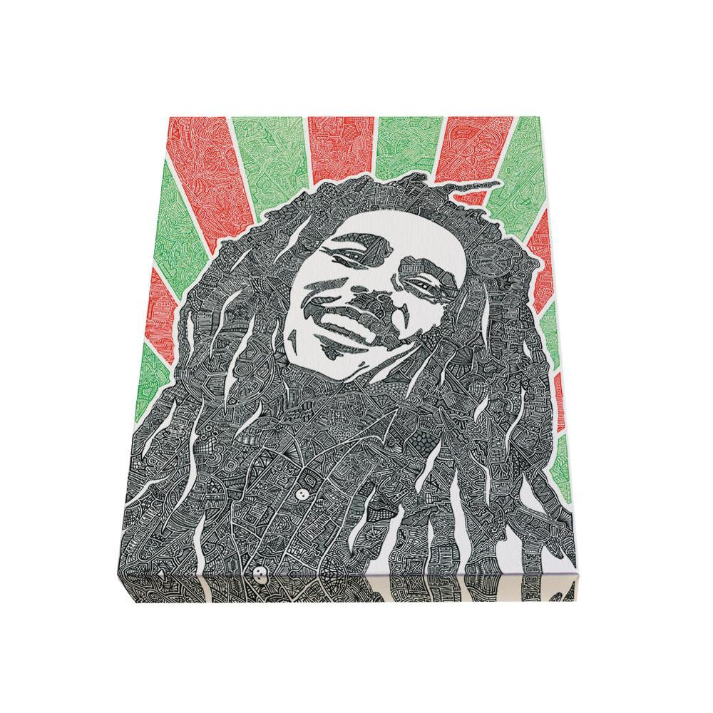 Canvas - Reggae Rays-Canvas-Viz Art Ink