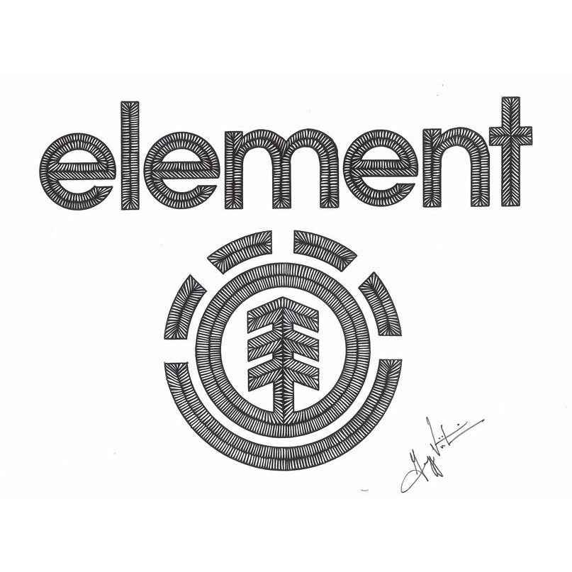 Element Skateboards Logo-Gallery-Viz Art Ink