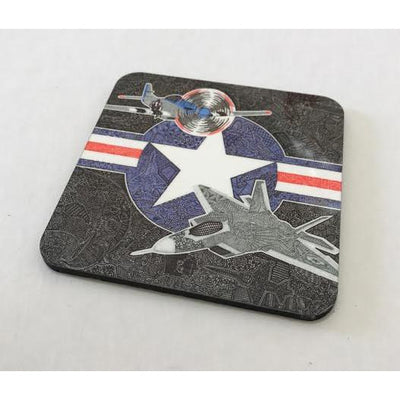Coasters - Flight of the Fighter-Coasters-Viz Art Ink