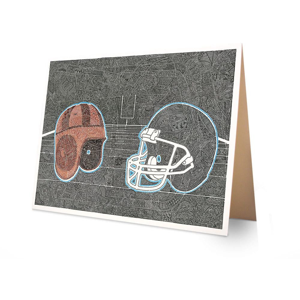 Greeting Card - A Time of Football-Greeting Cards-Viz Art Ink