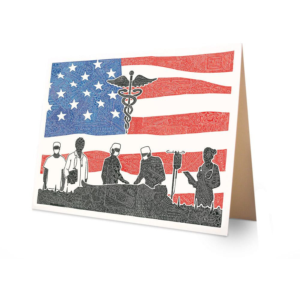 Greeting Card - Healthcare Heroes