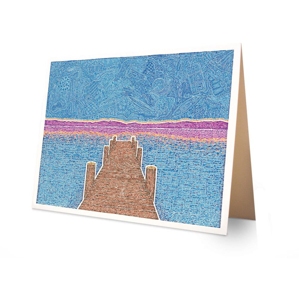 Greeting Card - Thinking of Tahoe-Greeting Cards-Viz Art Ink