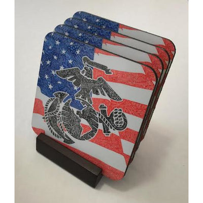 Coasters - Marines-Coasters-Viz Art Ink