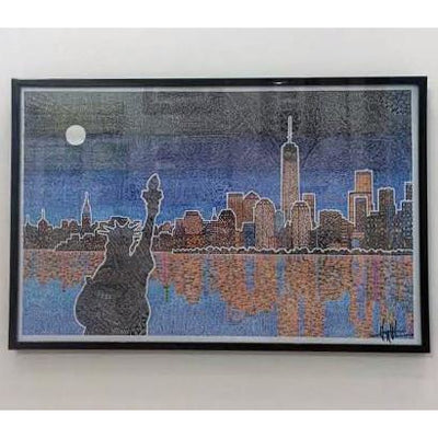 Art Print - Light Up New York-Art Print-Viz Art Ink