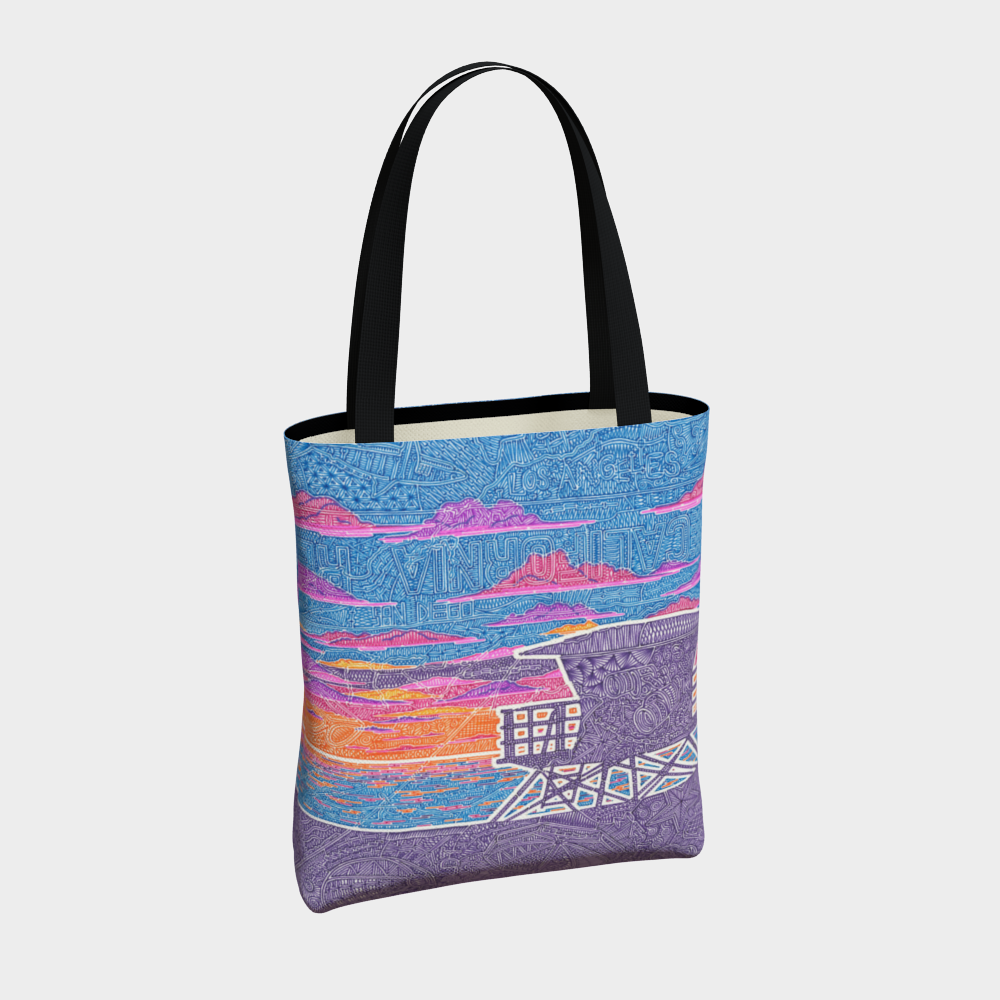 Tote Bag - Coastal California