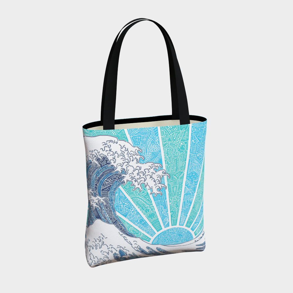 Tote Bag - Off California (Blue)