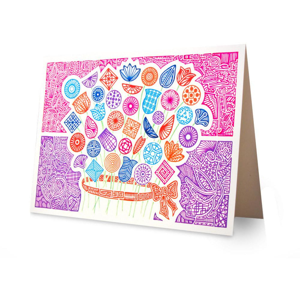 Greeting Card - Angela's Bouquet