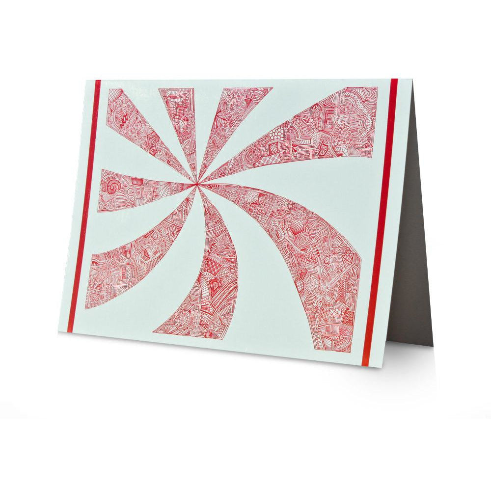 Greeting Card - Twisted Alphabet-Greeting Cards-Viz Art Ink
