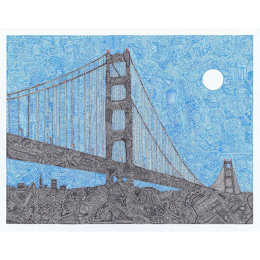 Art Print - Welcome to the Bay