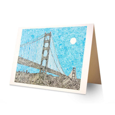 Art Print - Welcome to the Bay-Art Print-Viz Art Ink