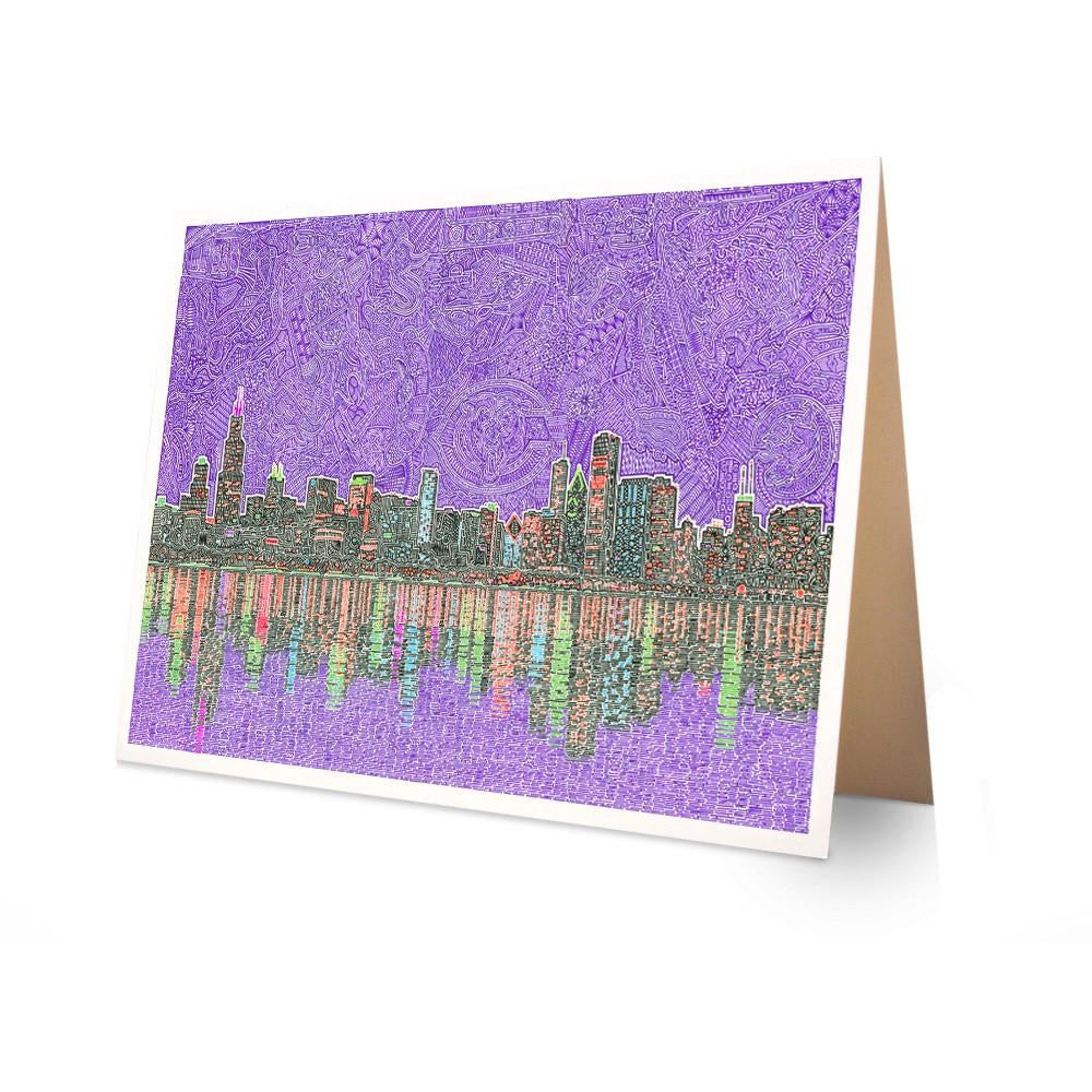 Greeting Card - Chicagoland-Greeting Cards-Viz Art Ink