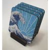 Coasters - Off California (Blue)