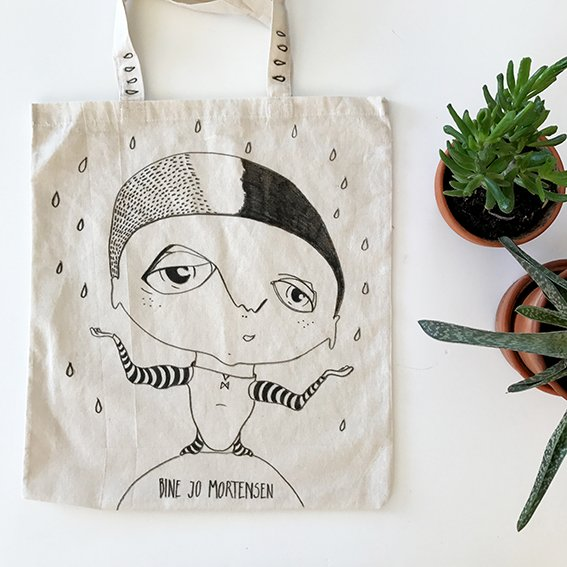 Original Finur Tote Bag by BineJoMo - BineJoMo Studio
