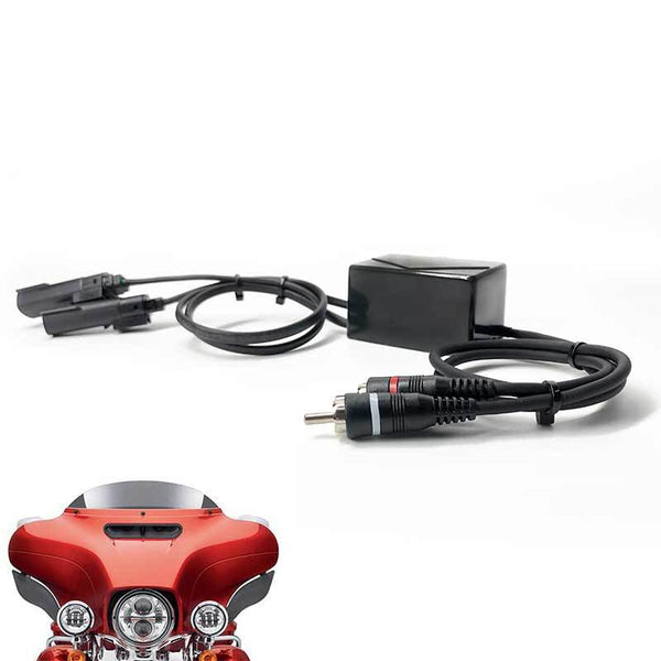 2014+ Harley Plug & Play Signal Adapter for Aftermarket Amplifiers