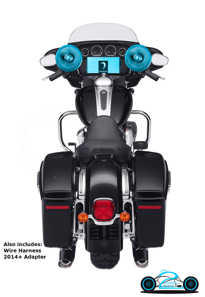 AMP, & UPPER FAIRING SPEAKERS UPGRADE 2014+