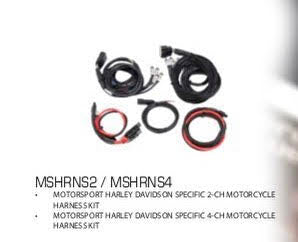 DIAMOND AUDIO TOURING MODEL WIRING HARNESS - MSHR2