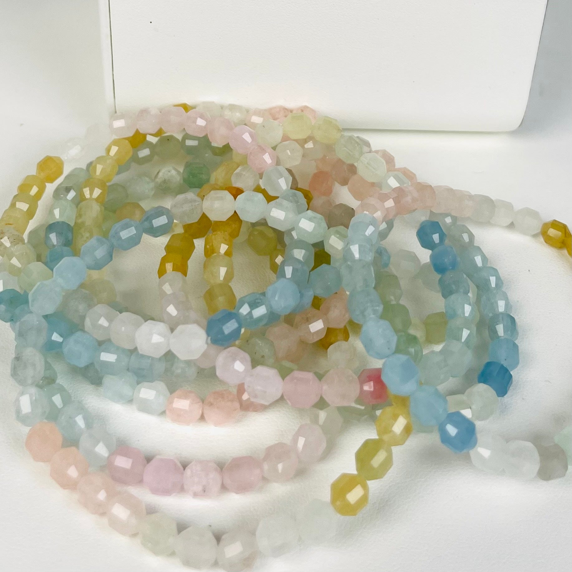 Tanzanite and Diamond Peony Pendant
