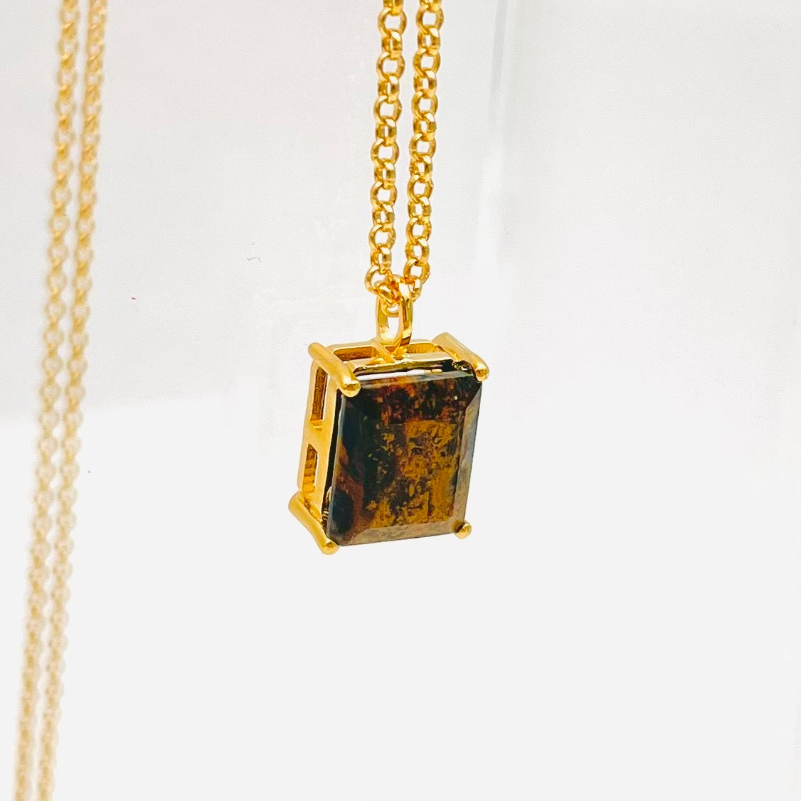 LOCKDOWN SALE!! Sacred Dahlia Ring - Lapis with Moonstone Petals