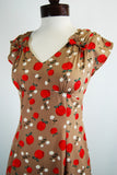 The Apple Blossom Dress - Cinnamon