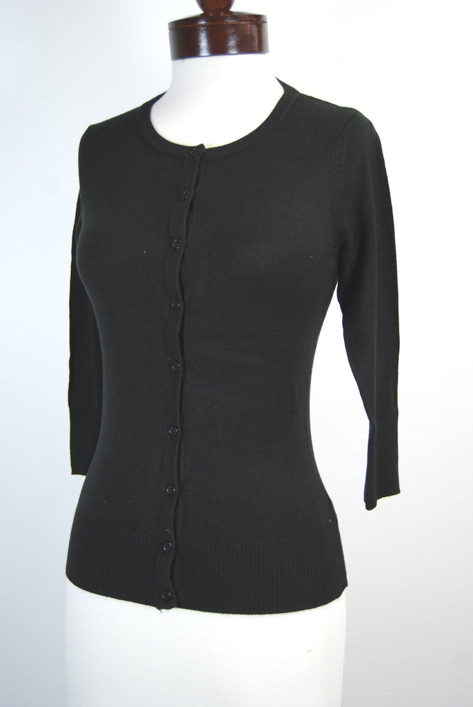 The Girly Cardigan - Black