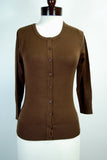 The Girly Cardigan - Brown