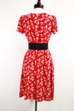 The Chantilly Dress - Red