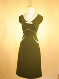 Stop Staring Olive Green Clover Dress