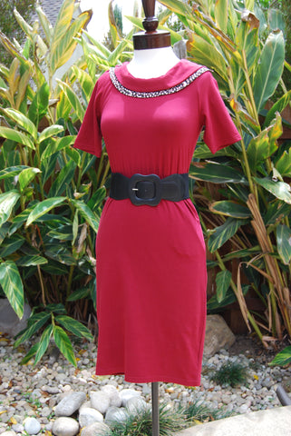 The Roma 1940's Style Cotton Dress