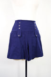 Jersey Knit Sailor Shorts