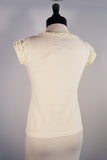 The Provence Blouse - Ivory