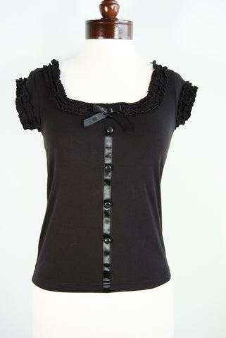 The Provence Blouse - Black