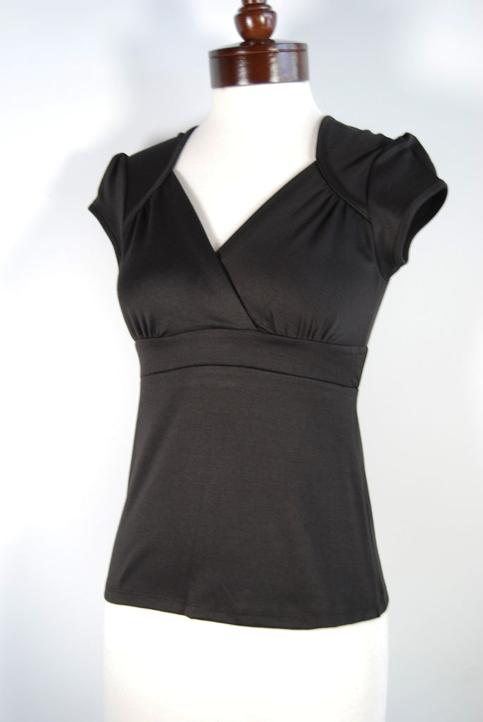 The Lush Blouse - Black