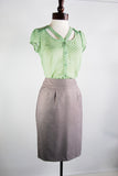 The Dottie Blouse - Green