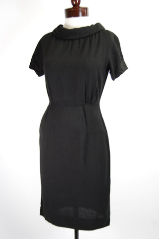 Black Jackie-O Dress