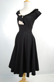 Stop Staring Clothing Lavish 1950's Swing Retro Dress