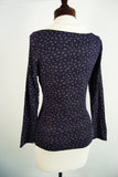 The Lizbeth Blouse - Navy