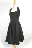 Onyx Black Vintage Reproduction Dress
