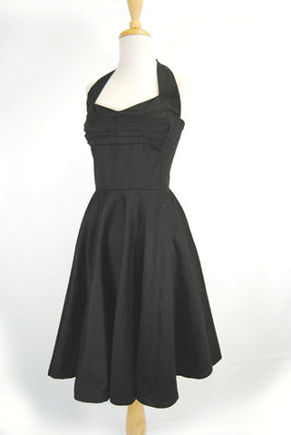 The Onyx Vintage Reproduction Dress
