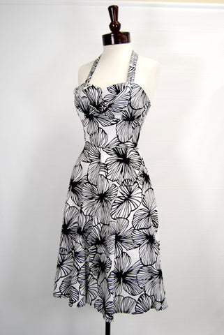 The Paradis 1950's Halter Swing Dress