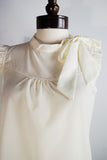 The Pedal Blouse - Ivory
