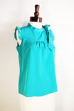 The Pedal Blouse - Teal