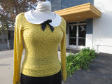 The Lizbeth Blouse - Mustard