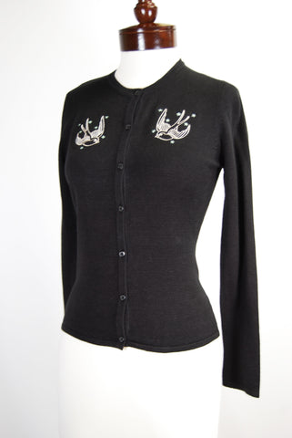 Black Sparrow Cardigan